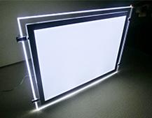Ceiling Hanging LED Crystal Lightbox Display