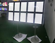 Floor Standing Crystal LED Lightbox Display