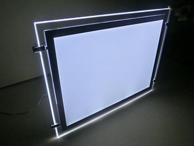 Ceiling Hanging Lightbox